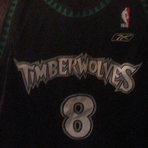 Reebok Latrell Sprewell Timberwolves Jersey